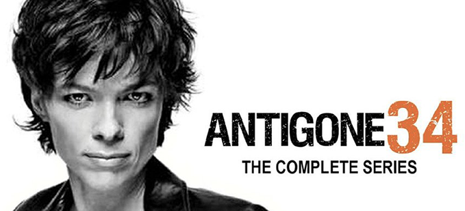Antigone 34, the complete series in DVD